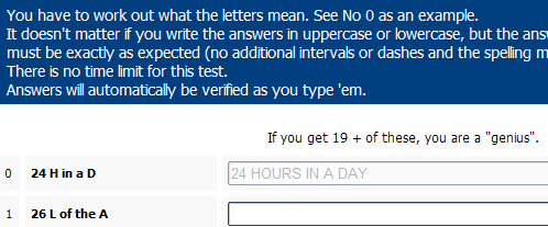 Intelligence Test - fun and unique IQ Tests